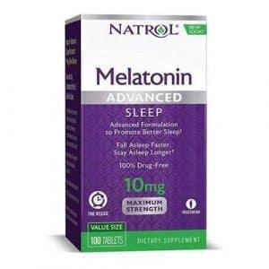 melatonina 10mg time release