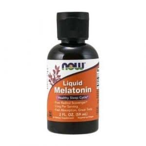 Melatonina Liquida 3mg Now Foods