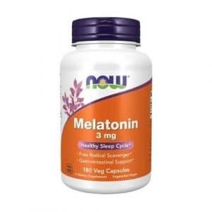 melatonina 3mg now foods