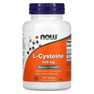 l-cisteina 500mg now foods