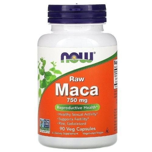 maca raw 750mg now foods