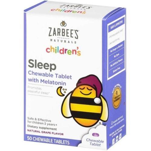melatonina zarbees infantil